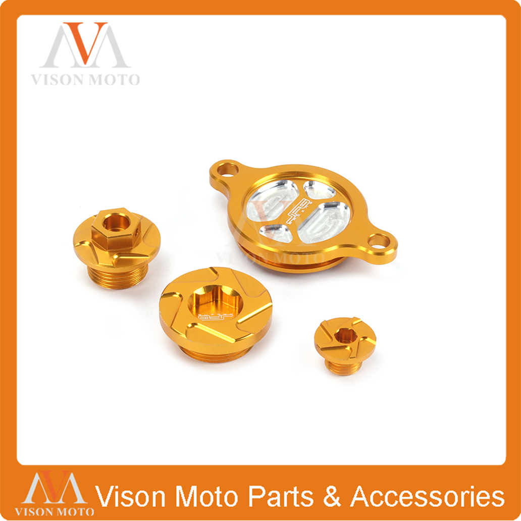 CNC Engine Oil Plug Filter Cover Cap For SUZUKI RMZ250 2007 2008 2009 2010 2011 2012 2013 2014 2015 2016 RMZ450 RMX450Z 10 15