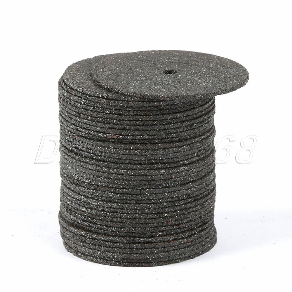 36Pcs 24MM Dremel Accesories Abrasive Cutting Discs Cut Off Wheels Disc For Dremel Rotary Tools Electric Metal Wood Cutting Tool