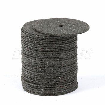 цена на 36Pcs 24MM Dremel Accesories Abrasive Cutting Discs Cut Off Wheels Disc for Dremel Rotary Tools Electric Metal Wood Cutting Tool