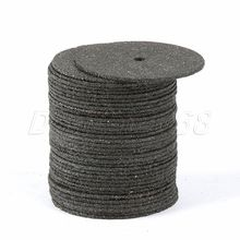 Free shipping Black 36 Discs Dremel Cut Off Wheels 24mm Reinforced with 1 Tube for Rotary