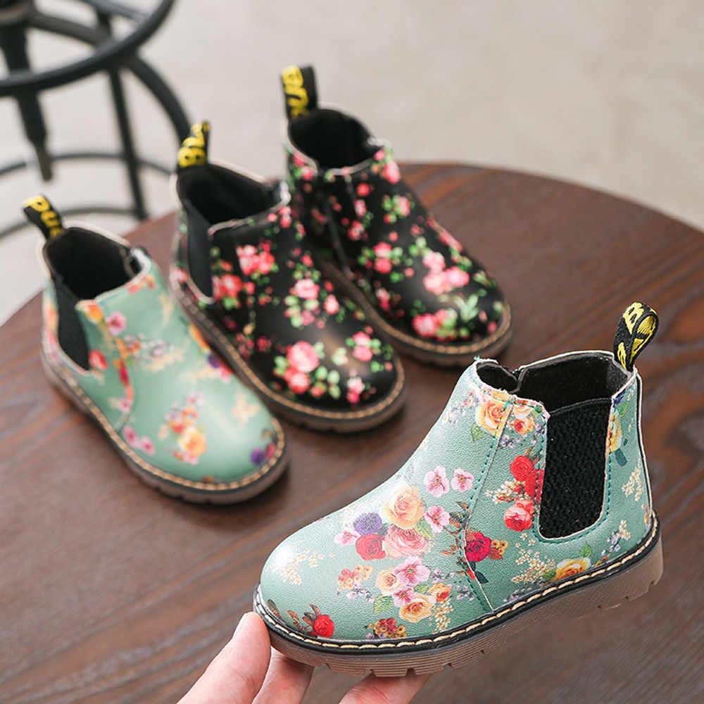 c995ebf72f MUQGEW 2018 Hot Sale Children Fashion Boys Girls Martin Sneaker Winter  Thick Snow Baby Casual Shoes Dropshipping Baby Shoes