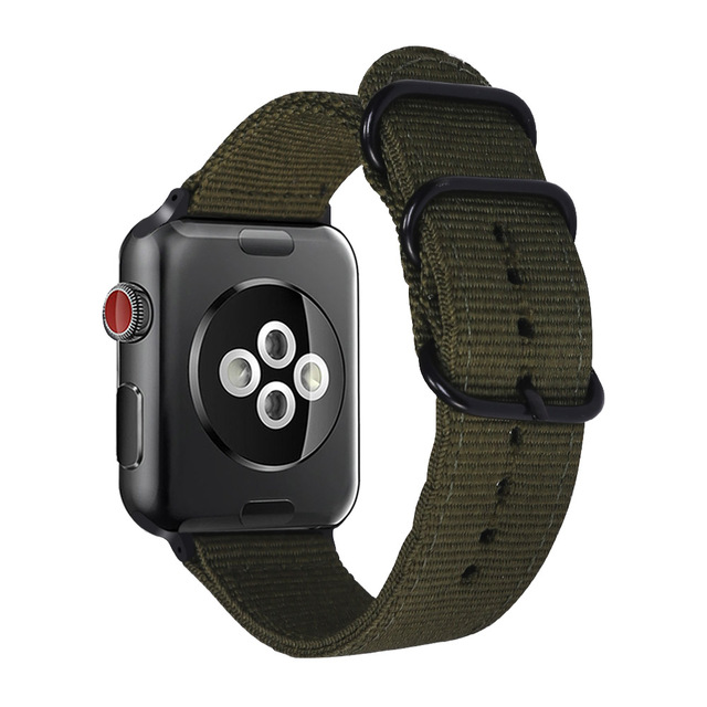 XIYUZHIYI Hot Sell Nylon Watchband for Apple Watch Band Series 4/3/2/1 Sport Leather Bracelet 42 mm 38 mm Strap For iwatch Band