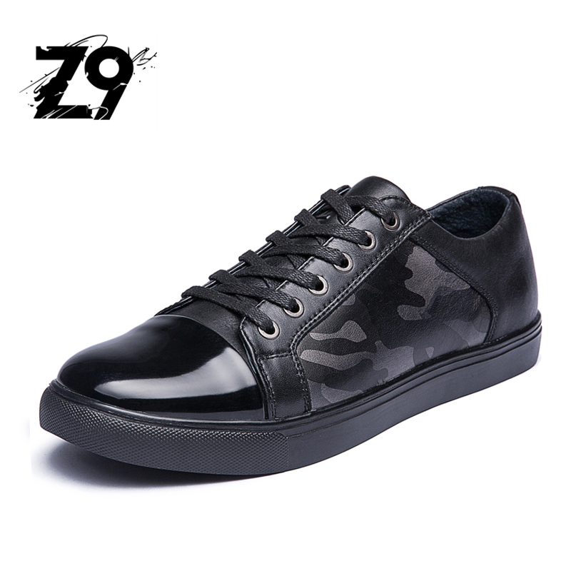 New fashion sneaker casual men flats shoes brand design oxford style comfortable leather printed pattern lace-up all season цены онлайн