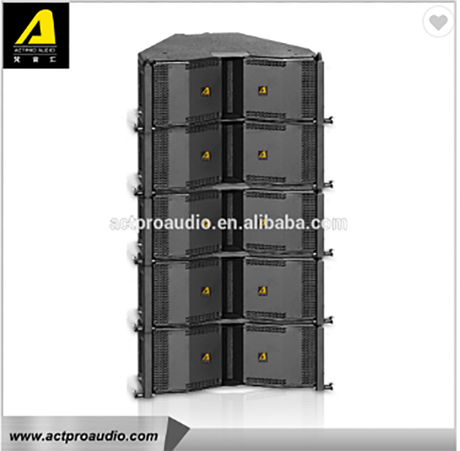 Cdr208 Line Array Speaker Actpro Audio Active Sound Box Touring Speaker