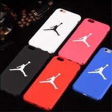JSPYL Flyman Jordan Caso Capa Para o iphone 7 Plus 8 6 S 6 S 6 Plus Celular Rígido PC Phone Cases Carcasa Para iPhone X 5 Ss SE Fundas