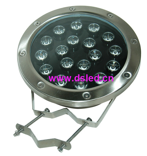 ФОТО Good quality,high power IP68,18W LED underwater light,LED pool light,24V DC, DS-10-53-18W,stainless steel,2-Year warranty