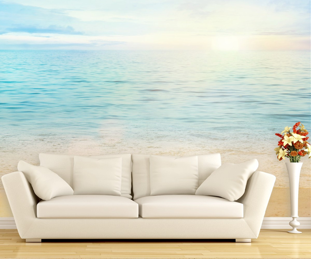 beautiful sea summer or spring abstract background ocean themed