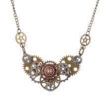 Лидер продаж ожерелье в стиле стимпанк с различными передачами