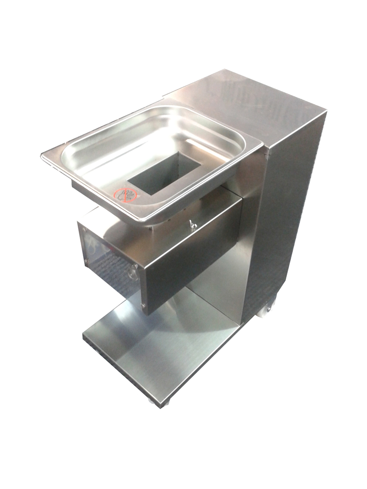 Free shipping By DHL 110V 220V Stainless Steel Meat Slicer 500KG/HR Meat Restaurant Meat cutter free shipping 110v vertical meat cutting machine 500kg hour fast shipping by dhl meat slicer