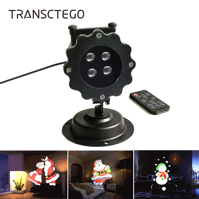 Christmas Lamp Laser Projector Light LED Landscape Projection Outdoor Waterproof Halloween Cartoon Garden Decoration Lawn Light beiaid ip65 outdoor laser landscape light projection moving star christmas laser projector garden party disco dj led stage light