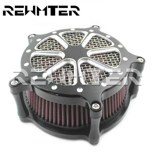 Air Filter Cleaner Filter For Harley Sportster XL Touring Street Glide Road Glide Dyna Softail Motorcycle Accessories