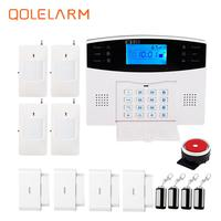 Russian French Spanish Italian Czech Voice 433mhz GSM Autodial Intelligent Anti Burglar Security Remote Control Alarm