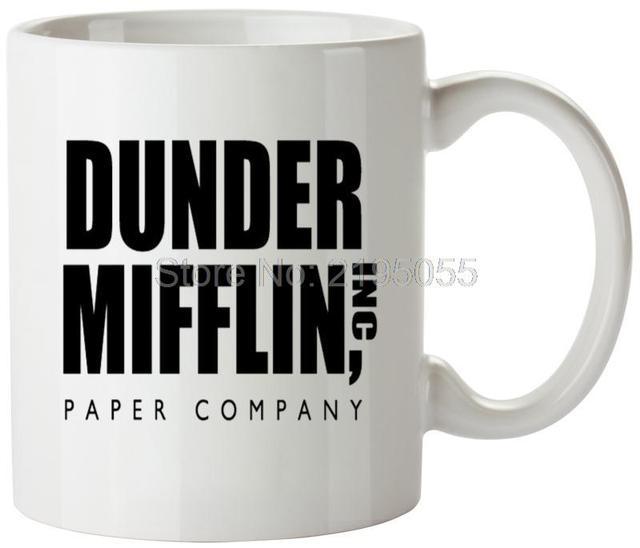dunder mifflin personalized coffee cups custom mugs coffee mugs in
