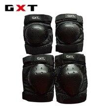 Gxt езда — страна мотоцикл защитное снаряжение коленной чашечки kneepad налокотники падение сопротивления скобки короткий участок оснащен