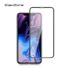 Full Cover Film For iPhone XR 9 XS MAX Tempered Glass Protective Protector