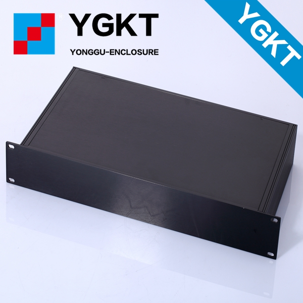 YGH-002 482*67-250 mm (wxhxd) 1.5u  Extruded Aluminum Enclosure Case Tube extruded aluminum pool enclosures 3206 amplifier aluminum rounded chassis preamplifier dac amp case decoder tube amp enclosure box 320 76 250mm