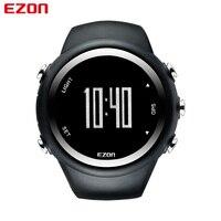 EZON Mens GPS Sports Watches Waterproof Distance Calorie Counter Fashion Casual GPS Watch Digital Multifunctional Wrist