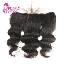 Brazilian Body Wave 13X4 Ear to Ear Lace Frontal Closure 100 Human Hair 8 20inch Natural