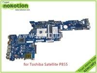 NOKOTION QFKAA LA 8392P Rev 1.0 K000135160 For toshiba satellite P850 P855 Laptop motherboard HM77 HD4000 graphics