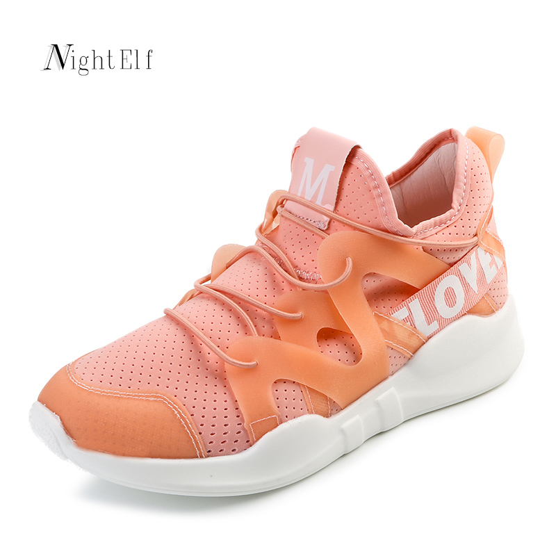 Night Elf running sneakers women breathable air mesh sport <font><b>shoes</b></font> 2017 summer running <font><b>shoes</b></font> for women black white walk <font><b>shoes</b></font> hot