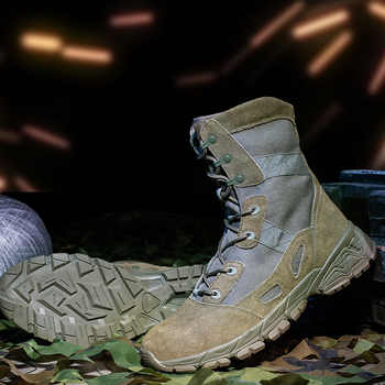 High Quality Men Military Tactical Training Boots Mens