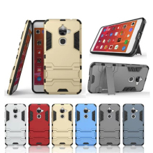 цена на Letv Le 2 Case ! Soft Silicon +PC Hard Armor Iron Man Case For Letv Le 2 Pro X620 Phone Anti-knock Back Cover With Stand