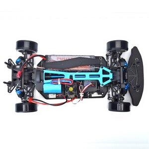 Image 4 - Coche a Control remoto HSP 1:10 4wd para carretera, coche a Control remoto 94123PRO FlyingFish, coche a Control remoto de alta velocidad Lipo sin escobillas