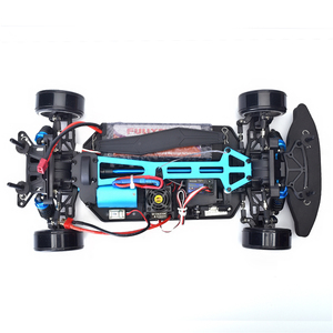 Image 4 - HSP Rc Car 1:10 4wd On Road Rc Drift Car 94123PRO FlyingFish Electric Power Brushless Lipo High Speed Hobby Remote Control Car