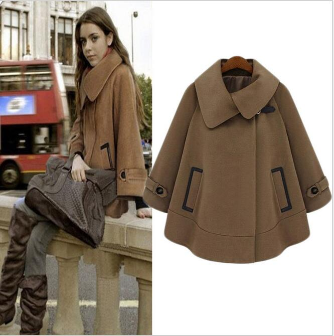 Popular Wool Cape Coats for Women-Buy Cheap Wool Cape Coats for ...