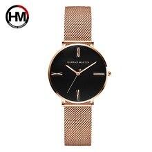купить Women Watches 2019 Luxury Brand Fashion Ladies Rose Gold Wristwatches Casual Steel Mesh Minimalism Clock Female Relogio Feminino по цене 977.4 рублей