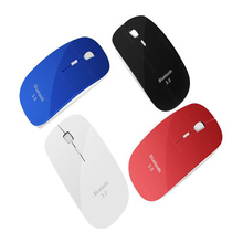 Super Slim Mouse Bluetooth Mice Mini Wireless Bluetooth 3.0 Mouse sem fio Optical Gaming Mouse PC Computer Gamer with DPI Switch
