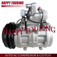10P17C AC Compressor For Audi 100 200 5000 80 90 S4 V8 Quattro R57357 471 0258 471 0259 902 037 14 2952C 19192183 57357