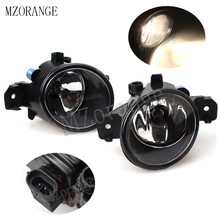 2Pcs Fog Light Lamp Assembly For NISSAN Qashqai Altima Maxima Sentra  Primera Rogue Pathfinder NV400 DRL Halogen 55W Car Styling beler 2pcs right left fog light lamp with h11 halogen 55w bulb assembly for nissan cube juke murano infiniti ex35 ex37 qx50