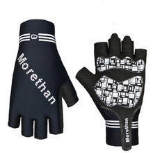 Professional good quality shock-proof gel pad finger-less cycle gloves road