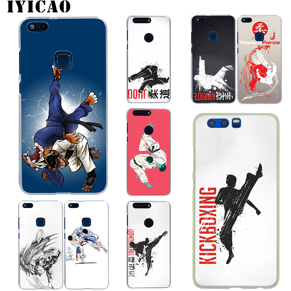 IYICAO Judo <font><b>Hard</b></font> <font><b>Case</b></font> for Huawei <font><b>Honor</b></font> 6A 6C 7A 7C 7X 8 8X <font><b>9</b></font> 10 20 9X <font><b>Lite</b></font> Pro <font><b>Honor</b></font> Play Note 10 View 20 image