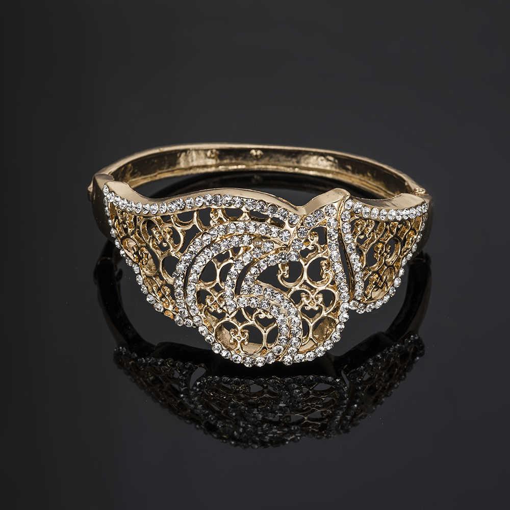 ערכות תכשיטי דובאי BAUS ניגרית סט תכשיטים כלה לחתונה עגילי שרשרת גדולה תכשיטי חרוזים אפריקאים סט ערכות מתנה