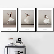 Ballet Girl Dance Wall Art Canvas Posters And Prints Canvas Painting Nordic Poster Pop Art Wall Pictures For Living Room Decor цена и фото