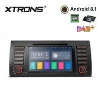 1 Din 7 Android 8,1 автомобильный DVD плеер Радио RDS CAN шина OBD WiFi gps для BMW X5 E53 1999 2000 2001 2002 2003 2004 2005 2006