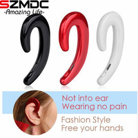 Szmdc Bone Conduction Sport Bluetooth Headset K8 Wireless Bluetooth Headset With Mic For Android IPhone Driving