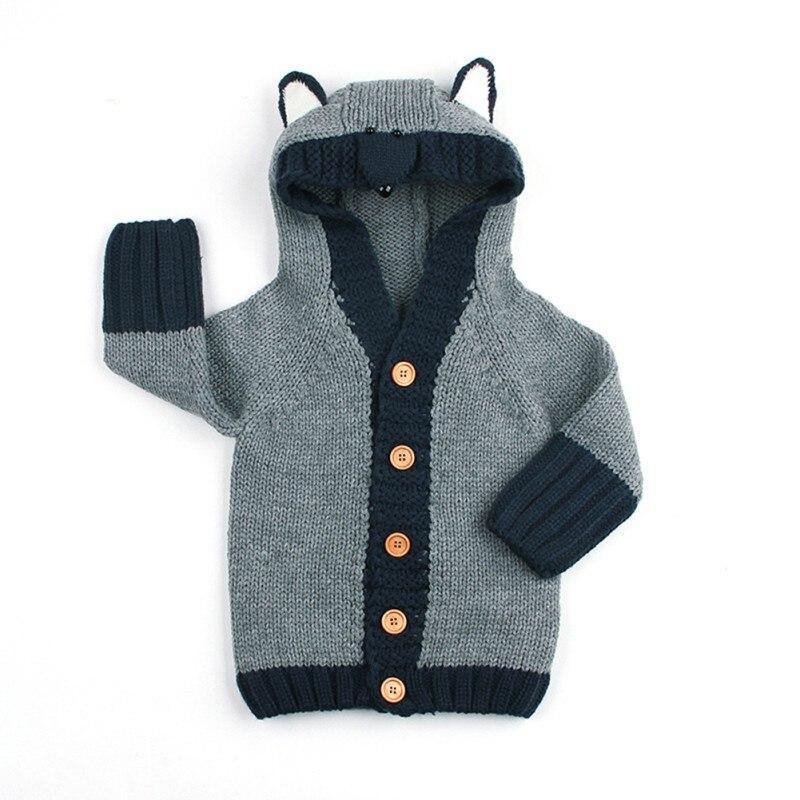 100% Waar Nieuwe Infrant Baby Kleding Hooded Vest Trui Voor Baby Peuter Jongens Meisjes Jas Jas Baby Warm Outfit