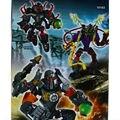 Decool 101B герой завод 4 солдаты роботы 3 шт./лот строительный блок устанавливает образования DIY кирпичи игрушки