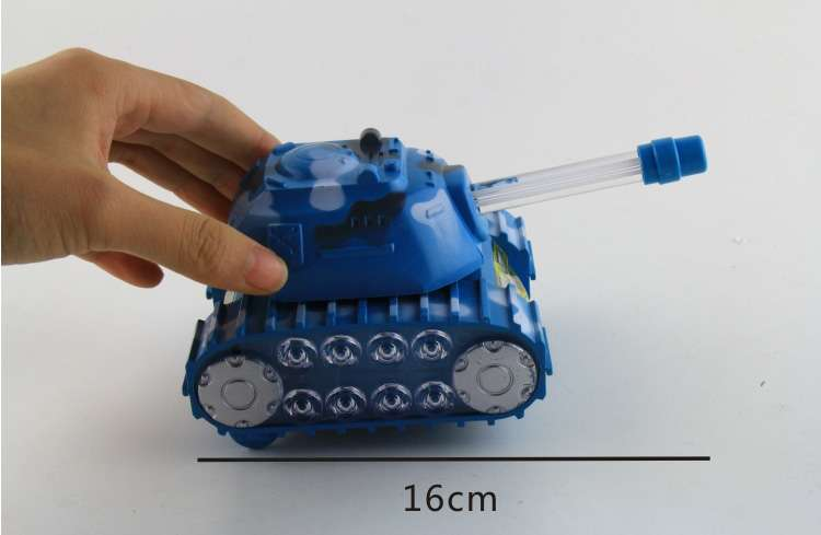 Music Light Universal Toy Tank Childrens Electric Toys Tanks Model Unisex Plastic 2-4 Years Electronic Flashing