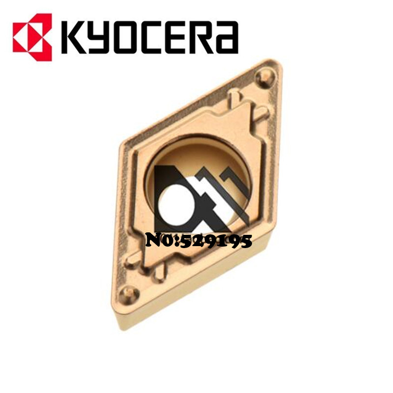 DCMT11T304 HQ PV720 PV7020 original Kyocera Insert Hardmetal Matching Standard Turning Inserts baring bar DCMT 11T304