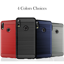 Carbon Fiber Case For Asus Zenfone Max M2 ZB633KL Case Silicon Anti-knock Cover For Asus Zenfone Max Pro M2 ZB631KL Cover Fundas new for mechrevo x6ti m2 a cover top case