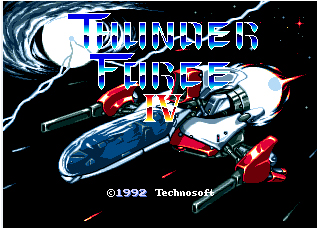 Thunder Force IV Game Cartridge Newest 16 bit Game Card For Sega Mega Drive / Genesis System