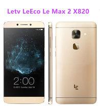 Letv – téléphone portable LeEco Le Max 2 X820 4G LTE, Snapdragon 820 Quad Core, écran 5.7 pouces WQHD 2560x1440, 6 go de RAM 64 go de ROM, caméra 21mp, identification tactile, Original