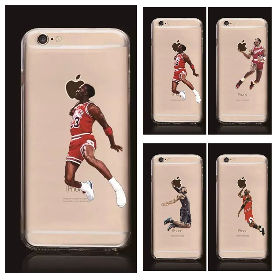 buy nba star basketball player phone case for iphone 5 5s 6 6s 7 plus jordan 23. Black Bedroom Furniture Sets. Home Design Ideas