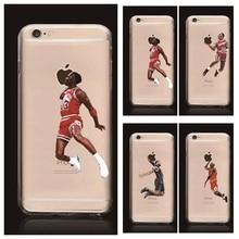 Звезда НБА баскетболист телефон чехол для iphone 5 5s 6 6 s 7 плюс Иордания 23 джеймс харден карри hard PC back cover coque fundas