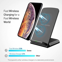 QI Wireless Charger Dock for iPhone X Xs Max XR Samsung Galaxy S8/S9 Note 8 Pad Universal Phone Wireless Chargers Fast Charging|Mobile Phone Chargers| |  -