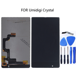 Image 1 - LCD + Touch Digitizer for Umidigi Crystal LCD 100% Test OK + Touch Screen Digitizer Kit for UMI Crystal + Free Shipping